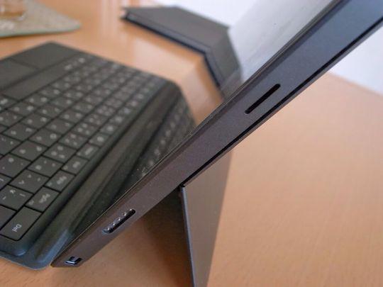 Surface Proのインターフェース