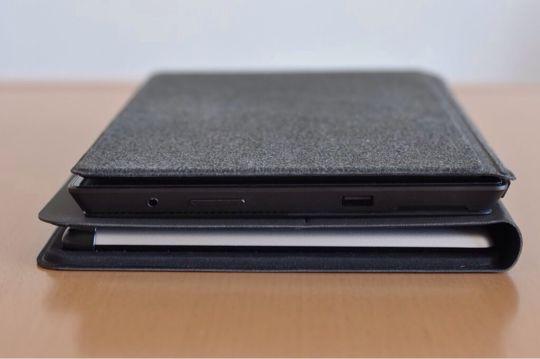 Surface ProとレノボタブレットPCの厚み